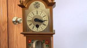 Cuckoo Clock Kit Miniature Grandfather Clock Youtube