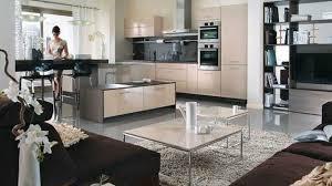 cuisine ouverte moderne deco cuisine ouverte sur salon decoration sejour moderne design