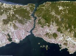 Istanbul Map Istanbul Turkey Change Detection Earth Watching