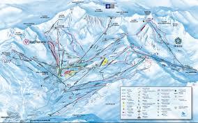 St Martin Map Trail Map Les 3 Vallées U2013 Val Thorens Les Menuires Méribel Courchevel