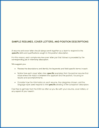 Cover Letter Resume Simple cover letter to resume basic cover letter for a resume 21 images