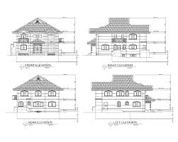 residential house plan drawing arts