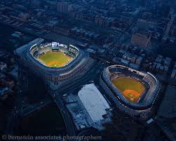 yankee stadium home run lights new and old yankee stadiums lit up together for the last time ny