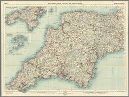 Map Of Cornwall England by Sheet 10 Devon And Cornwall David Rumsey Historical Map Collection
