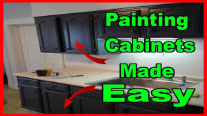 Kitchen Cabinets Made Easy Painting Kitchen Cabinets For Beginners