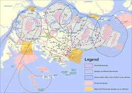 Singapore Air Route Map by Singapore Kite Association Faq