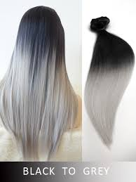 ombre extensions colorful hair extensions vpfashion