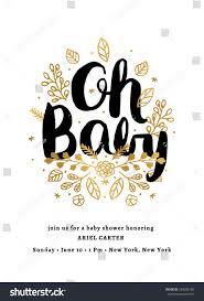 baby shower invitation template stock vector 359006195 shutterstock