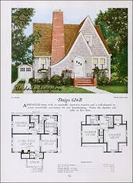Storybook Floor Plans 1920 National Plan Service English Cottages English And House