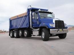 freightliner dump truck is there an sd truck in your future construction equipment