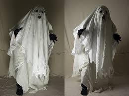 bed sheet ghost
