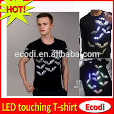 custom light up t shirts eyecatching 3d print glow up led t shirt custom light up led t