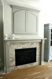 Ideas For Fireplace Facade Design Travertine Tile Fireplace Surround Contemporary Ideas Ceramic Home
