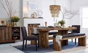 Bench Style Dining Tables Via Housetohome Co Uk Via Moldse Home Interior Ideas