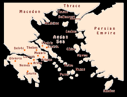 blank map of ancient greece ancient greece geography of the ancient and aegean map