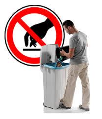 poubelle cuisine 60l poubelle à pédale norme alimentaire capacité 60 litres