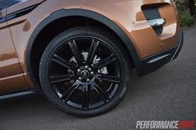 black land rover with black rims 2015 range rover evoque dynamic 20in black wheels
