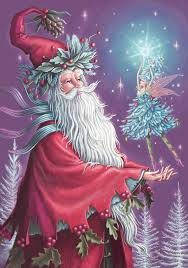 father of the fairies father christmas cradles the fir tree fairy