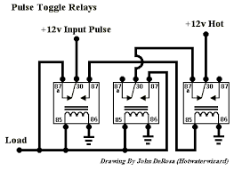 need a simple 12 volt latching relay electronics forum