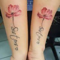 matching flower tattoos flowers ideas for review