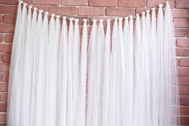 wedding backdrop garland tulle garland backdrop merrylove weddings