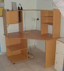 bureau ordinateur angle echange bureau informatique d angle mobilier et decoration 89150