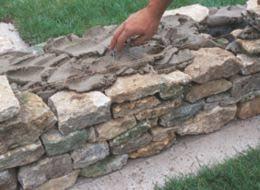 how to build a stone garden wall ideas u0026 advice diy at b u0026q