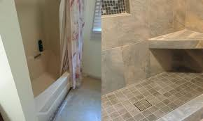 How To Convert Bathtub To Shower Tub To Shower Conversion Stonehengeshowers Pinterest Tub To Shower