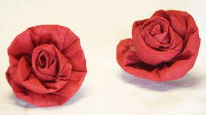 membuat hiasan bunga dari kertas lipat cara mudah membuat mawar dari kertas bisa buat hiasan vas bunga