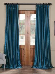 Blue Window Curtains Curtains Drapes Window Treatments Half Price Drapes