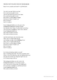 Gerund Or Infinitive Worksheet Trying Not To Love You Song Worksheet Worksheet Free Esl