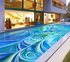 swimming pool mosaic designs home decor gallery