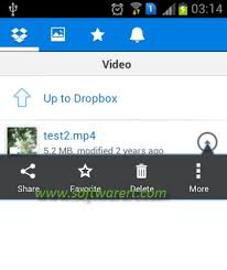 dropbox app for android from dropbox to andriod mobile phones