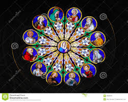 octagon stained glass window stained glass window church rome stock photos images u0026 pictures