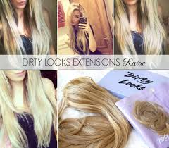 Dirty Hair Extensions by Dirty Looks Extensions Review Birds Words Bloglovin U0027