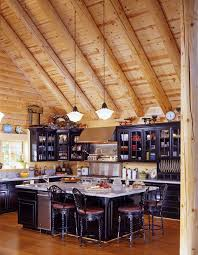 cabin kitchens ideas kithen design ideas log cabin kitchens dream awesome cabinets