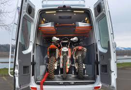 Conversion Van With Bathroom Our Vans Custom Sprinter Camping Van Toy Hauler 4x4 Vans