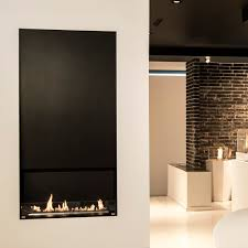 bioethanol fireplace contemporary open hearth 2 sided