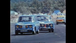 renault car 1970 1968 1970 renault 8 gordini on race automototv youtube