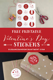 printable stickers valentines free printable valentine s day stickers