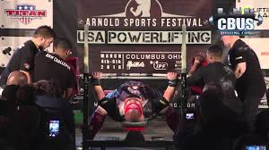 World Bench Press Record Blaine Sumner 401 5kg 885lbs Ipf Bench Press World Record 2016