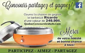 ricardo cuisine concours concours ricardo québec concours gratuits