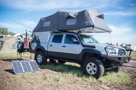 toyota hunting truck pickup topper becomes livable pop top u0027habitat u0027