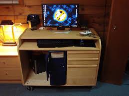 Computer Desk On Wheels Small Corner Computer Desk On Wheels 16 Awesome Computer Desk On