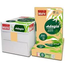 paper ream box a4 80gsm adagio cinnamon buff paper wl coller ltd