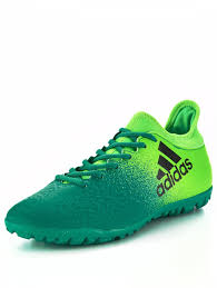 buy football boots nz adidas x 16 3 astro turf football boots solar green primarily
