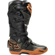 motocross boot straps fox instinct copper moth atlanta limited edition motocross boots