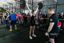 heavy lifting athlete racing up crossfit standings local sports