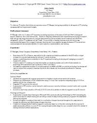It Resume Templates Examples Of It Resumes Professionally Written It Specialist