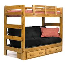 Twin Over Full Wood Bunk Bed Lowell Twin Over Full Bunk Bed The - Wooden bunk bed designs
